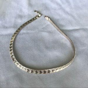 Accessories - Sterling silver serpentine bracelet